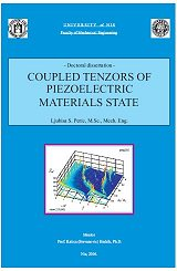 Coupled Tensors of Piezoelectric Materials State (e-book)