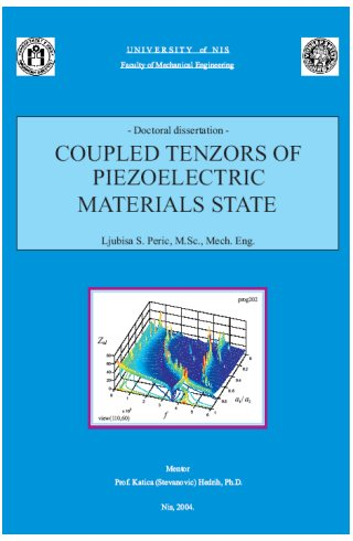 Coupled Tensors of Piezoelectric Materials State (e-book) - Click Image to Close
